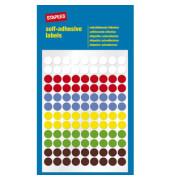 Markierungspunkte farbig sortiert Ø 8mm 648 Stück