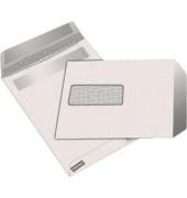 Versandtaschen C5 mit Fenster selbstklebend 80g weiß 50 Stück