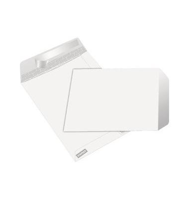 Versandtaschen C5 ohne Fenster haftklebend 100g weiß 50 Stück