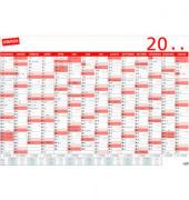 Plakatkalender 14Monate/1Seite 100 x 70cm 2021