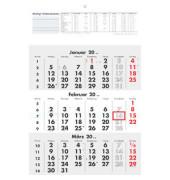 Dreimonatskalender 3Monate/1Seite 295x427mm 2017