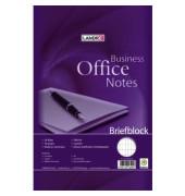 Schreibblock A4 Office rautiert A4 weiß 50 Blatt