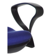 Armlehnen Kunststoff schwarz 1 Paar