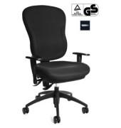 Bürodrehstuhl Wellpoint 30 SY mit Armlehnen schwarz
