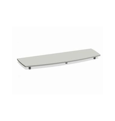 Deckplatte Bootsform f.160cm grau 1700x525x45