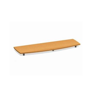 Deckplatte Bootsform f.160cm buche 1700x525x45