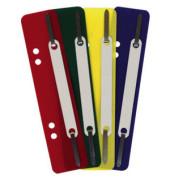Heftstreifen kurz 7282928, 34x150mm, Kunststoff mit Kunststoffdeckleiste, farbig sortiert, 100 Stück
