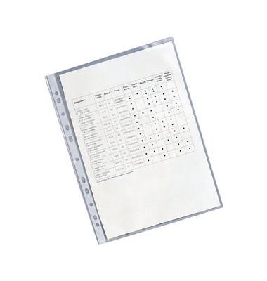 Prospekthüllen Standard A4 glasklar glatt 55my oben offen 100 Stück
