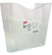 Wandprospekthalter 1 Fach A4 transparent