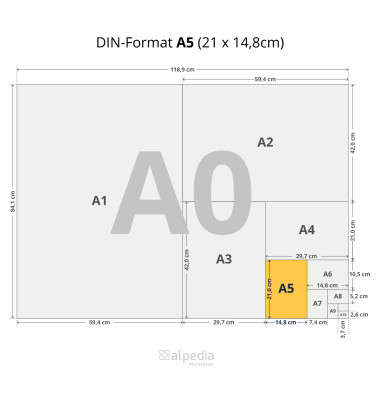 multiuse A5 80g Kopierpapier weiß 500 Blatt