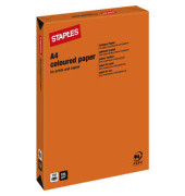 Coloured Paper orange intensiv A4 120g Kopierpapier 250 Blatt