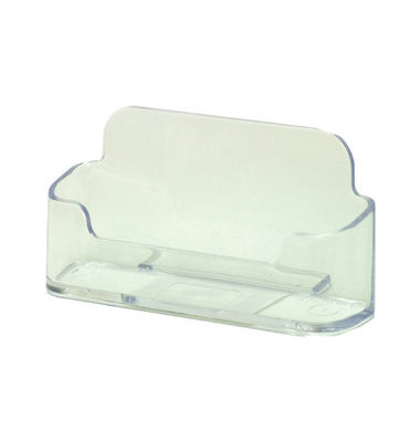 Visitenkartenhalter glasklar