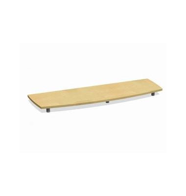 Deckplatte Bootsform f.160cm ahorn 1700x525x45