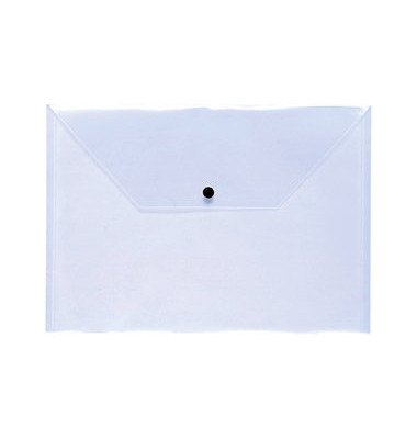 Dokumententasche Premium A4 transparent bis 150 Blatt