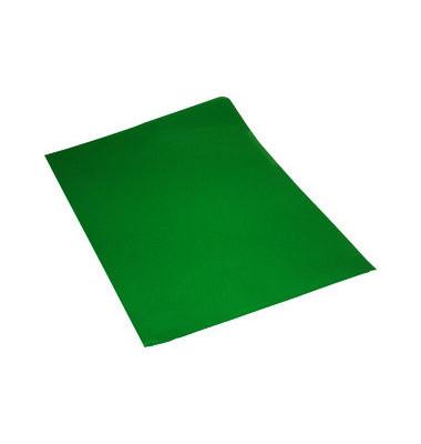 Sichthüllen 7435870, A4, grün, transparent, genarbt, 0,12mm, oben & rechts offen, PP-Folie