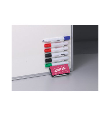 Stiftablage für Whiteboards magnethaftend