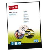 CD Etiketten Ø 117 mm weiß 200 Stück