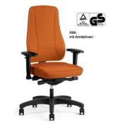 Bürodrehstuhl YOUNICO PRO ohne Armlehnen orange (Montage)