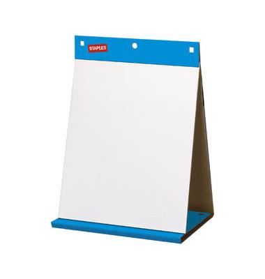 Tisch-Flipchartblock selbsthaftend blanko weiß 50 x 58,5cm 20 Blatt 1 Block
