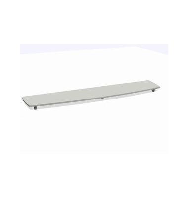 Deckplatte Bootsform f.240cm grau 2500x525x45