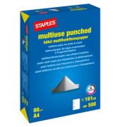 multiuse 4-fach gelocht A4 80g Kopierpapier weiß 500 Blatt