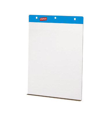 Flipchartblock selbsthaftend blanko 63,5 x 78cm 30 Blatt 2 Blöcke