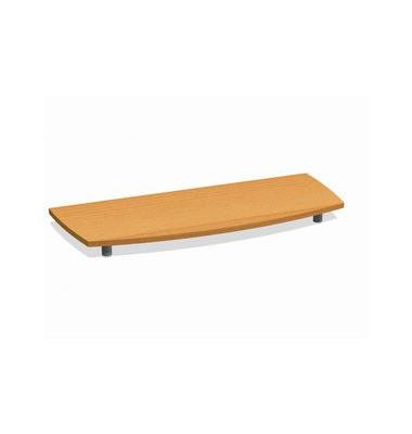 Deckplatte Bootsform f.120cm buche 1300x525x45