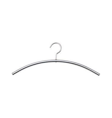 Kleiderbügel Stahl silber 5 Stück pro Pack 6219