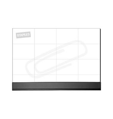 Schreibunterlage 7570110 mit Kunststoffleiste weiß 56x42cm Papier 50 Blatt