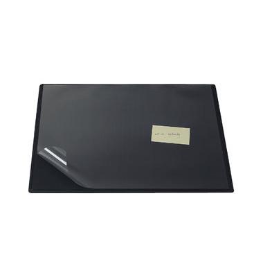 Schreibunterlage 63 x 50cm mit Sichtfolie RC schwarz
