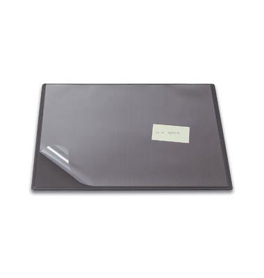 Schreibunterlage 63 x 50cm mit Sichtfolie RC grau