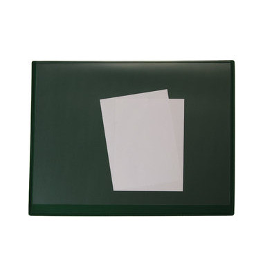 Schreibunterlage 7665663 grün 65x52cm Kunststoff