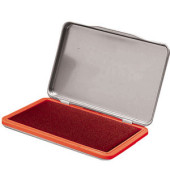 Stempelkissen Metall Größe 2 rot