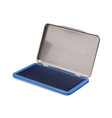 Stempelkissen 7711476 Größe 2 blau getränkt 7x11cm im Metallgehäuse