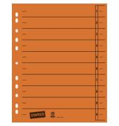 Trennblätter A4 orange 230g Karton 100 Blatt Recycling