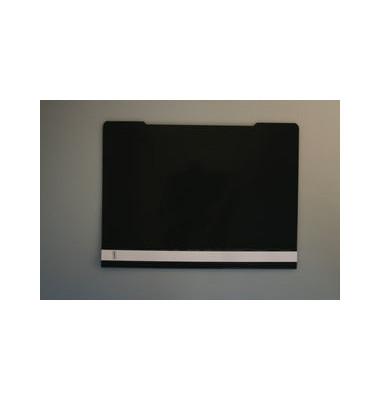 Schnellhefter A4 PVC schwarz transparenter Vorderdeckel kaufmännische Heftung