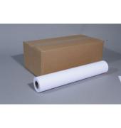 Plotterpapier Colour 610mm x 50m 90g weiß opak matt unbeschichtet 6 Rollen