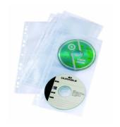 CD/DVD-Hülle f. 4 CDs transp. CEXP 5 St
