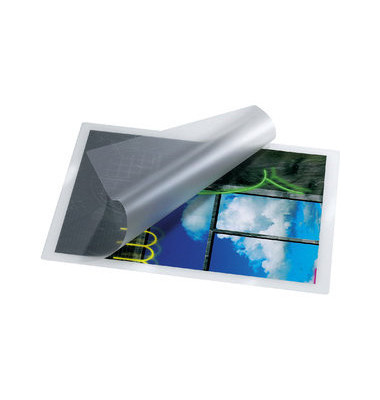 Laminiertasche farblos 0,25mm für Ausweis 100 Stück
