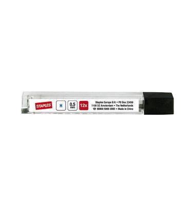 Bleistiftminen 0,5mm H schwarz