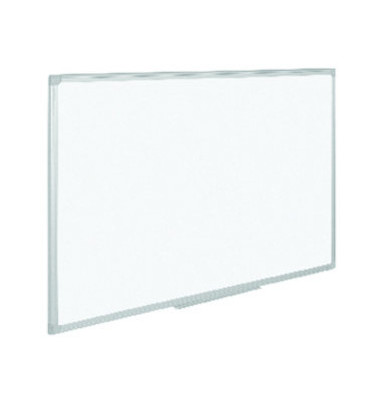 Whiteboard 120 x 90cm weiß lackiert Aluminiumrahmen
