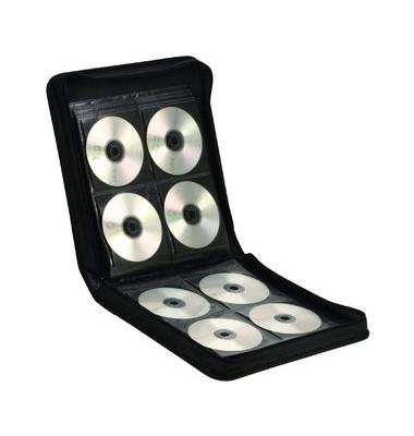 CD/DVD-Tasche f.144CDs/DVDs schwarz