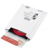 Versandtaschen für 5 Disketten oder 2 CD 24g weiß 165x185mm