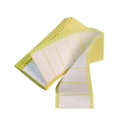 Computeretikett 3713 102 x 36 mm weiß 4000 Stück 1bahnig
