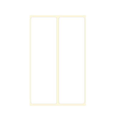 5834 Frankieretiketten 135 x 40 mm weiß 1000 Stück