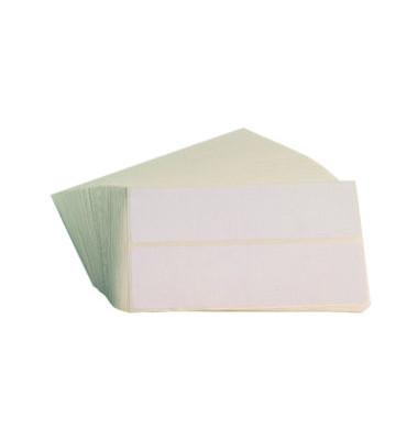 5839 Frankieretiketten 160 x 44 mm weiß 1000 Stück