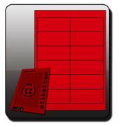 NEON Etiketten PINK 6903 97 x 42,3 mm 300 Stück