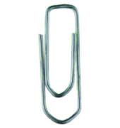 Büroklammern 205, 21mm, Metall verzinkt silber, 100 Stück