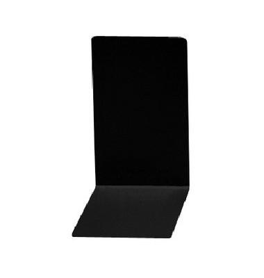 Buchstützen 4301 schwarz 85 x 140 x 140 mm 2 Stück