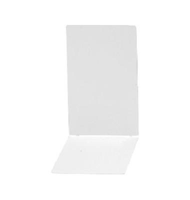 Buchstützen 4301 weiß 85 x 140 x 140 mm 2 Stück